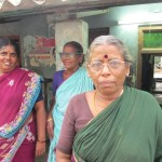 Ms. Kuppamal, the Self Help Group leader in Musaravakkam